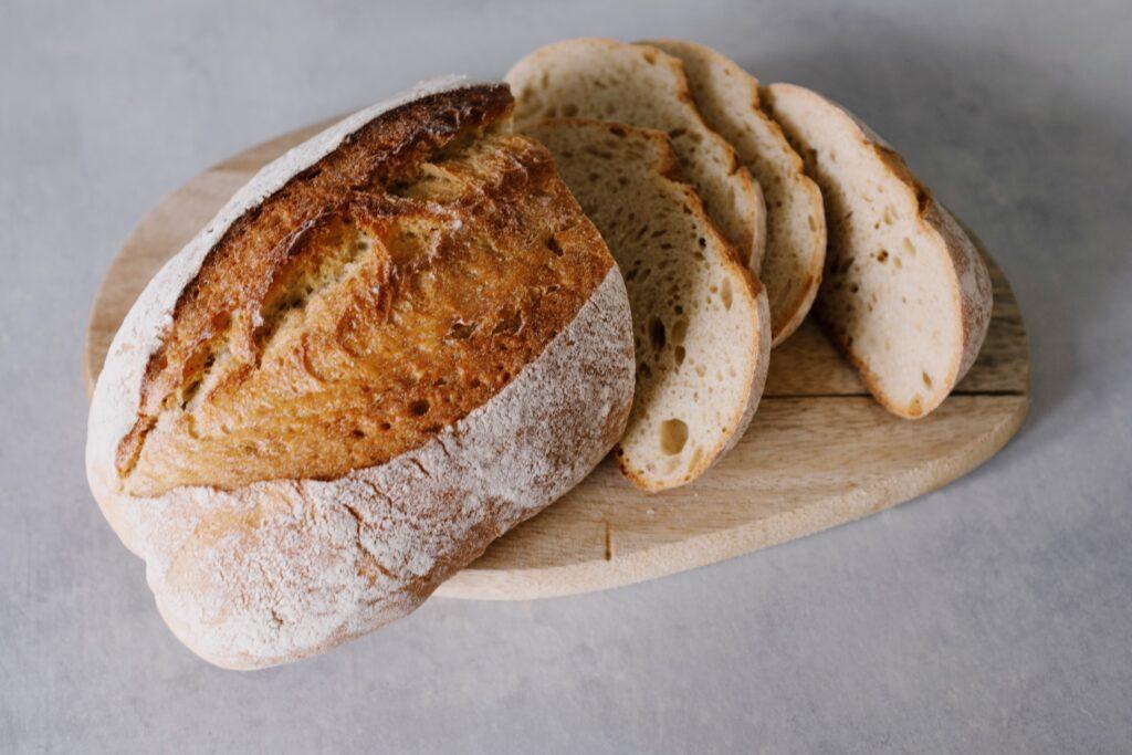brød fra brødbakemaskin