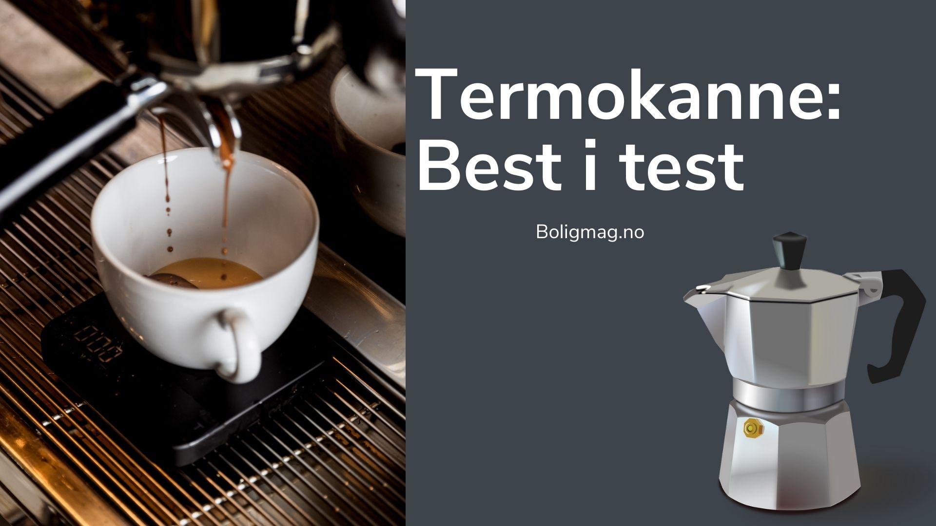 Termokanne test: 7 uslåelige kaffekanner til hjemmet ditt